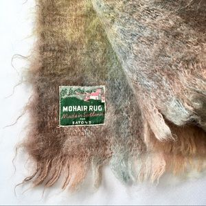 Other - Vintage Mohair Rug / Blanket